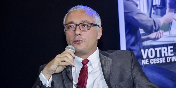Alain Turby, maire de Carbon-Blanc et conseiller métropolitain délégué à la Métropole numérique