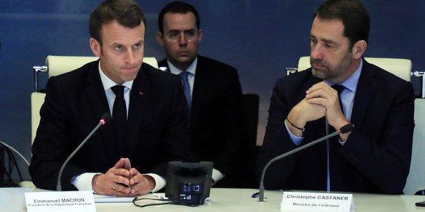 Le 16 mars 2019, réunion de crise au ministère de l'Intérieur présidée par le président de la République et Christophe Castaner, son ministre chargé notamment du maintien de l'ordre public, de garantir la sécurité des citoyens et des biens.