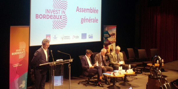 Le président d'Invest in Bordeaux, Lionel Lepouder, ici en décembre 2019, a démissionné de son mandat.