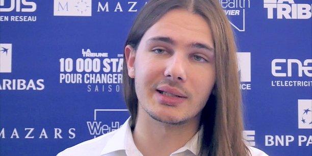 Thomas Solignac, Golem.ai, 22 ans