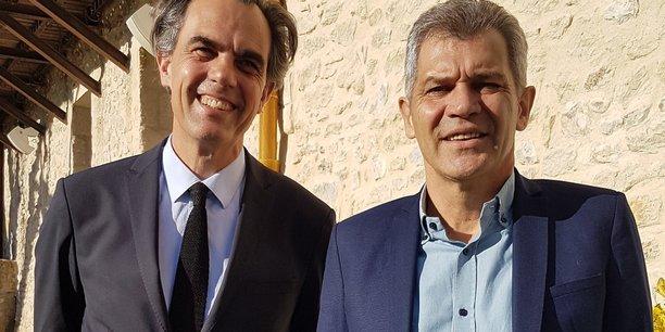 L'économiste Philippe Dessertine, et Philippe Lamouroux, président de l'Ordre des experts-comptables