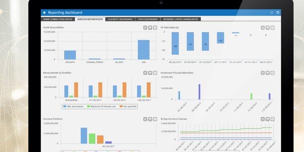 Le logiciel de gestion de trésorerie dans le cloud de Kyriba a séduit plus de 200 entreprises.