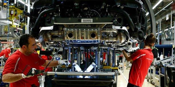 L'industrie automobile allemande a particulièrement souffert ces derniers mois.