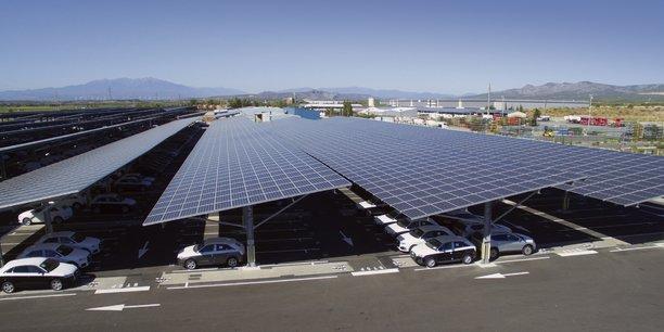 Walon s'est dotée d'une centrale solaire qui équipe ses parkings, projet soutenu par Enedis