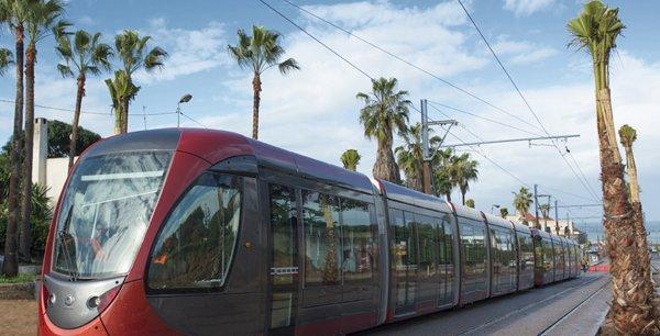 Le tramway de Casablanca, lancé en 2012