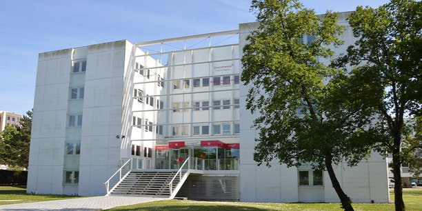 Le siège de Domofrance, à Bordeaux Nord.