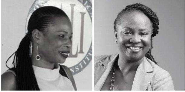 Thérèse Kirongozi (à droite) et Sivi Malukisa (à gauche) sont les deux femmes d'affaires de la délégation qui accompagne Félix Tshisékédi aux Etats-Unis du 3 au 5 avril 2019.