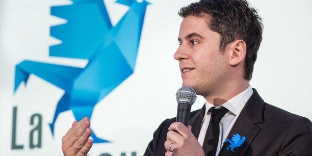 Gabriel Attal, secrétaire d'État auprès du ministre de l'Éducation nationale et de la Jeunesse, est, à 30 ans, le plus jeune ministre de la macronie et de la Ve République.