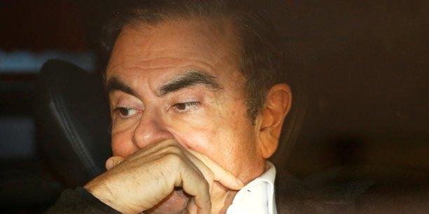 Carlos Ghosn est sorti de prison jeudi soir après avoir payé une deuxième caution, cette fois de 500 millions de yens (quatre millions d'euros).
