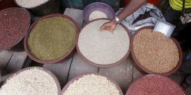 La hausse de l'inflation éthiopienne est principalement due à l'augmentation du prix des céréales qui s'est répercutée sur les produits alimentaires.
