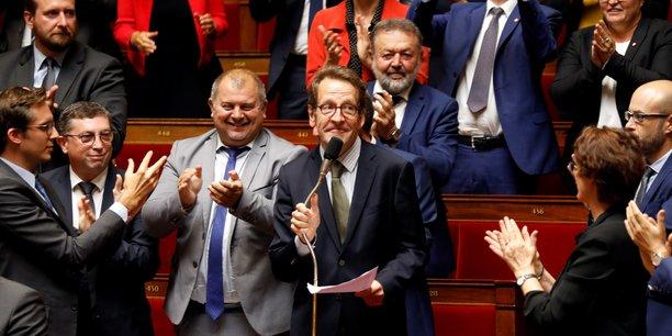 Gille Le Gendre, le 18 septembre 2018, jour de sa nomination comme président du groupe LREM à l'Assemblée nationale.