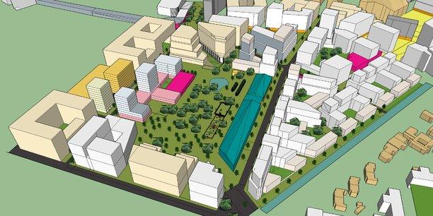 Le futur campus s'établira dans la zone sud du quartier Armagnac sur l'opération Bordeaux Euratlantique, proche de la gare