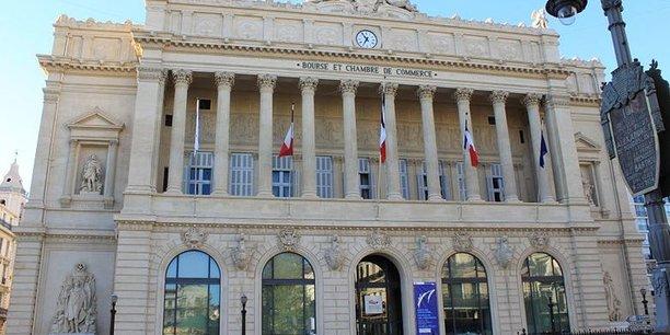 Bourse et chambre de commerce à Marseille.