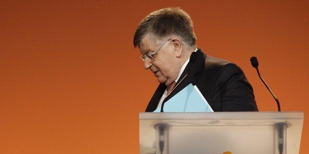 Didier Lombard, l'ancien PDG de France Télécom.