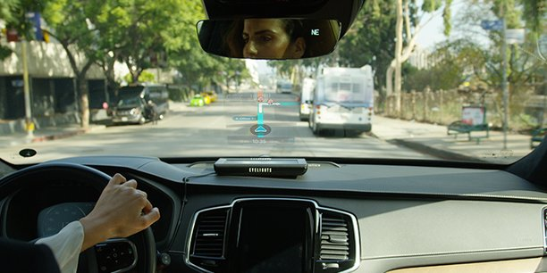 Le dispositif peut être géré à distance grâce à de simples gestes de la main.