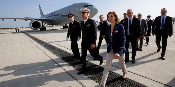 Florence Parly revendique plus de 9,1 milliards d'euros de ventes d'armes à l'export en 2018.