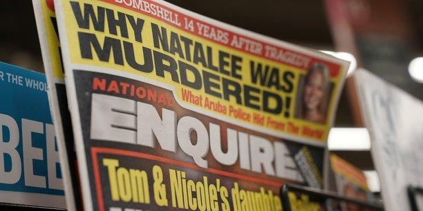 Le tabloid national enquirer, soutien de trump, en passe d'etre vendu[reuters.com]