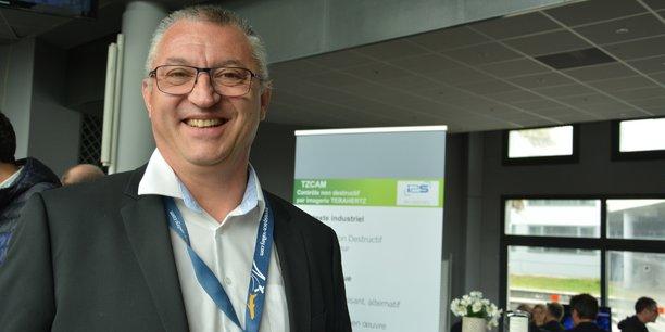 Philippe Fioravanti (Aerospace Valley) lors de la journée sur le contrôle du futur.