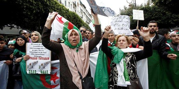 Comme chaque vendredi, manifestations anti-systeme en algerie[reuters.com]