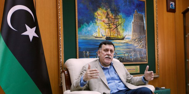 Fayez al-Sarraj, Premier ministre du gouvernement libyen reconnu par l'ONU.