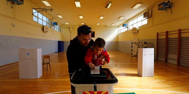 Presidentielle en macedoine du nord, le nom du pays au coeur des enjeux[reuters.com]