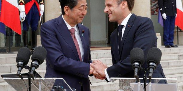 Macron veut sceller avec le japon un plan bilateral a cinq ans[reuters.com]
