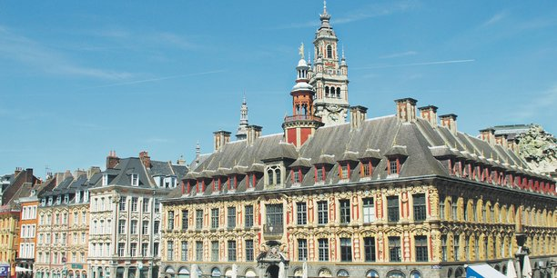 Lille, beffroi,