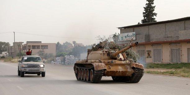 Libye: les forces de tripoli repoussent l'armee d'haftar[reuters.com]
