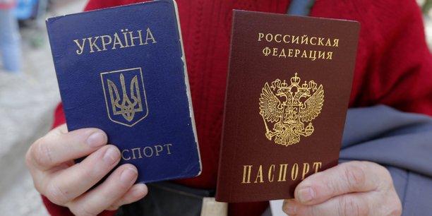 L'octroi de passeports russes aux separatistes ukrainiens facilite[reuters.com]