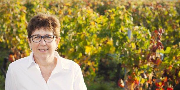 Françoise Lannoye, nouvelle présidente de l'Union des Côtes de Bordeaux