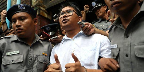 Washington deplore la condamnation des journalistes birmans[reuters.com]