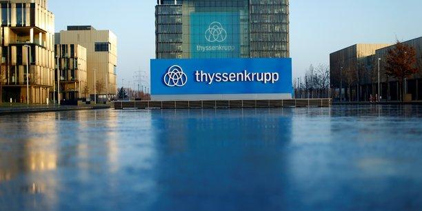 Le conseil de thyssenkrupp va evaluer le projet de scission[reuters.com]