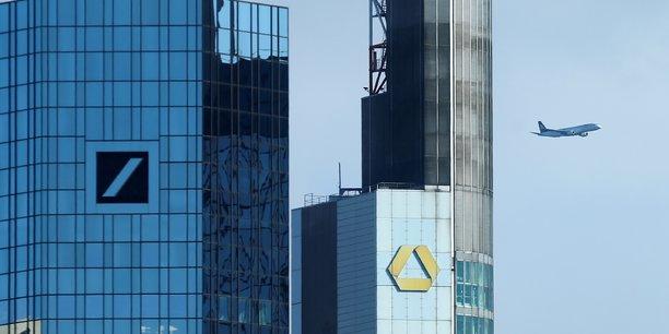 Deutsche bank et commerzbank renoncent a envisager une fusion[reuters.com]