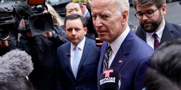 Joe biden officialise sa candidature a l'investiture du parti democrate[reuters.com]
