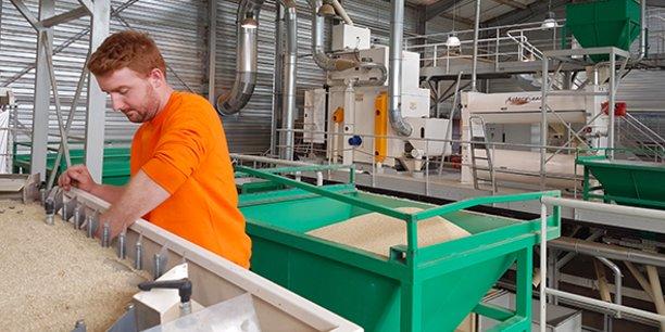 AsteraSeed investit régulièrement dans son usine de triage