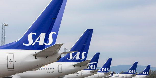 Plus de 1.200 vols annulés, 110.000 passagers immobilisés chez SAS