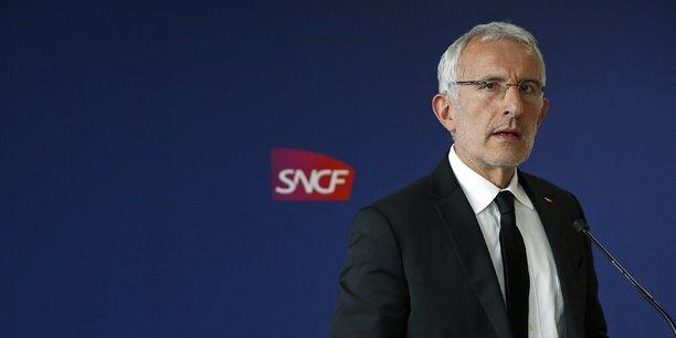 Le président de la SNCF, Guillaume Pépy.