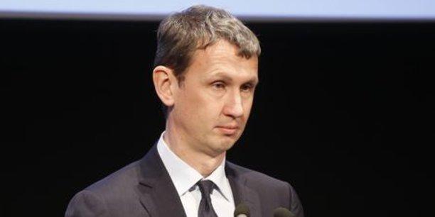 Maxime Lombardini, le président d'Iliad (Free).