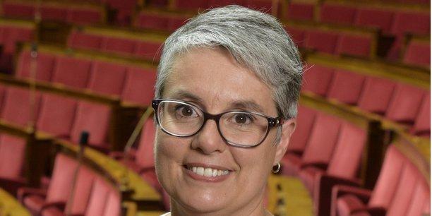 La députée (LREM) de la 4ème circonscription du Rhône Anne Brugnera.
