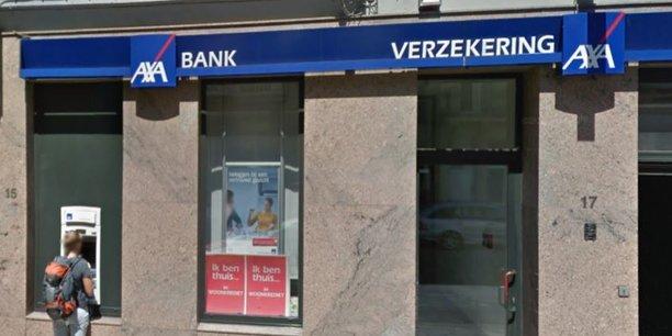 En Belgique, Axa compte 550 agences bancaires, tenues par des indépendants, en franchise.