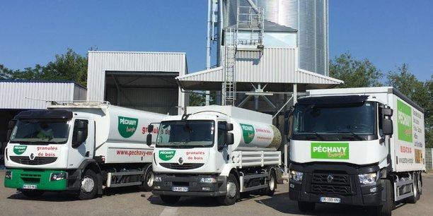 Le négociant et distributeur d'énergies Péchavy est implanté au Passage d'Agen (Lot-et-Garonne) et à Bassens (Gironde).