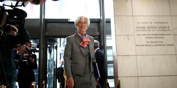 Christine Lagarde a déclaré mardi 7 mai que les tensions entre les Etats-Unis et la Chine sont la principale menace sur l'économie mondiale.