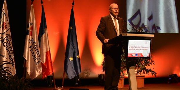 Alain Rousset, président de Nouvelle-Aquitaine doit faire face à la bronca des élus EELV.