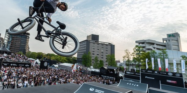 La 1e étape du FISE World Series, en attendant celle de Montpellier, s'est déroulée au Japon en janvier