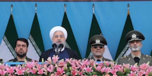 Hassan Rohani, président de la République islamique d'Iran.