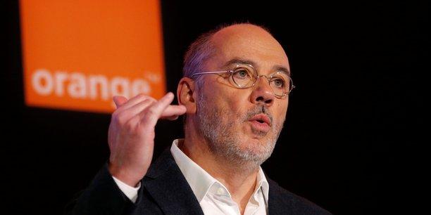 Stéphane Richard, le PDG du groupe de télécoms, a fait de la cybersécurité un de ses principaux axes de développement.