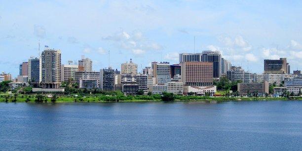 Vue de la capitale ivoirienne, Abidjan.