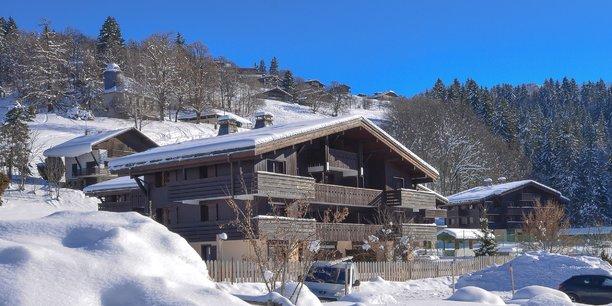 A Megève, l'une des neufs résidences de VVF Villages