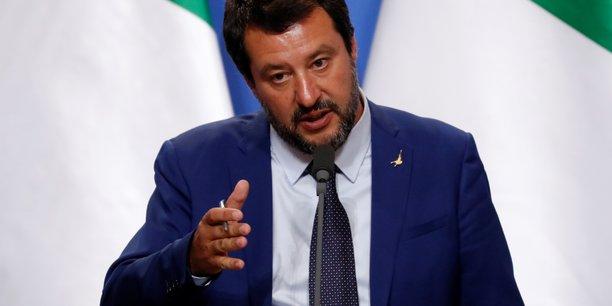 Le vice-président du Conseil italien Matteo Salvini.