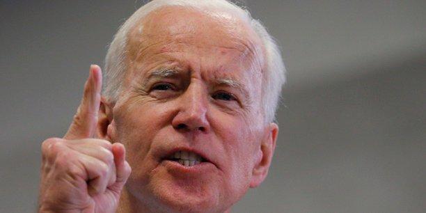 Biden creuse l'ecart dans les intentions de vote pour la primaire democrate[reuters.com]